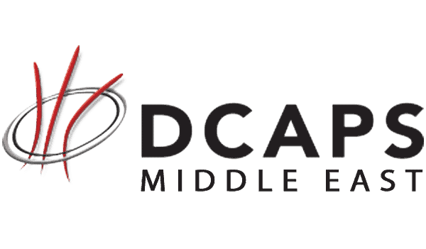 Logo of DCAPS Middle East Abu Dhabi