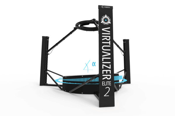 Second Generation Virtualizer includes Motion Platform to actively support user's gait