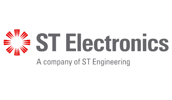 Logo of ST Electronics Singapore