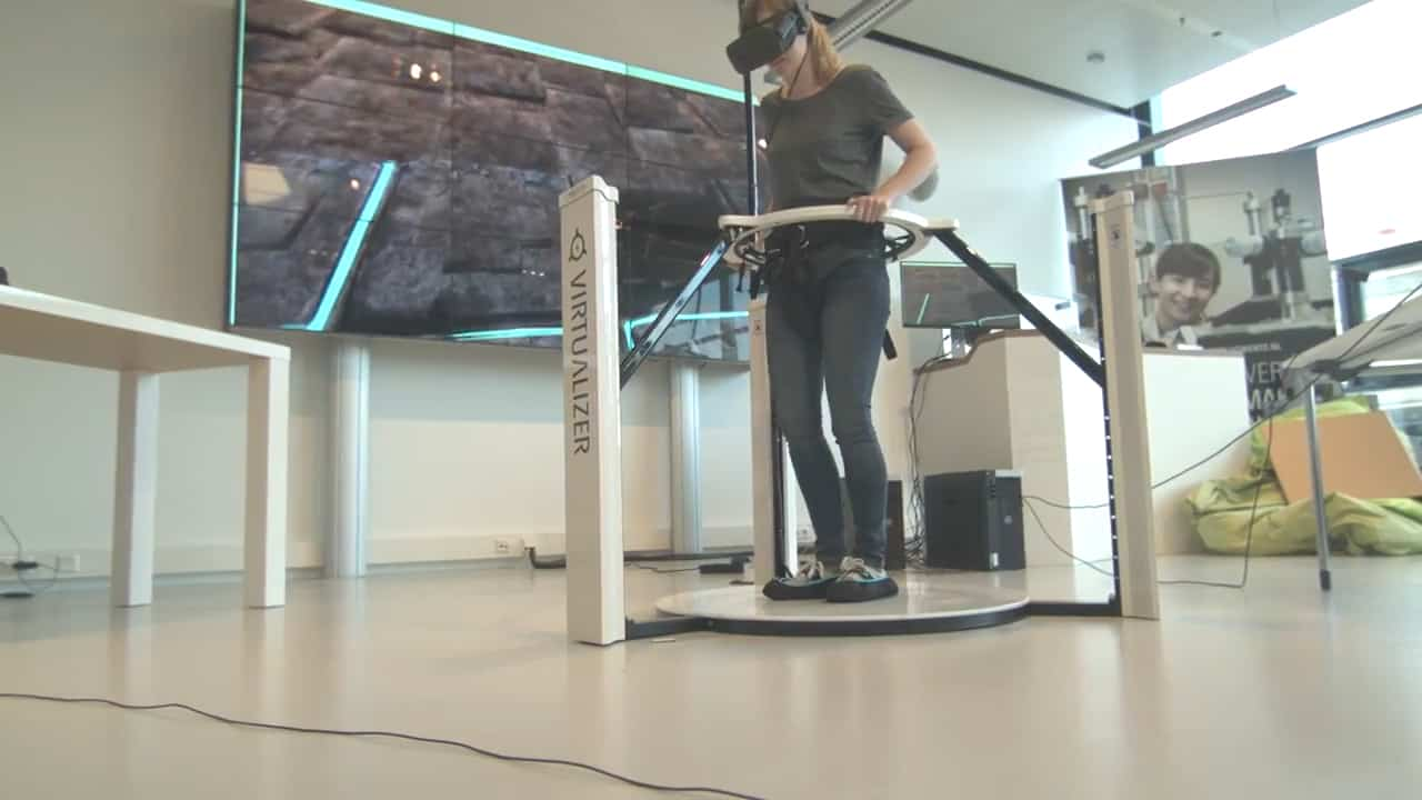 VR Development Kit Demo Lab in the Netherlands