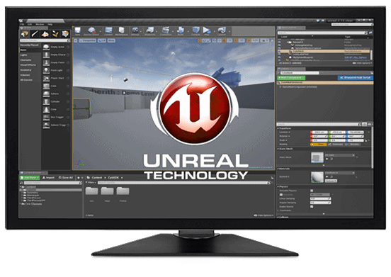 Working Screen Unreal Engine