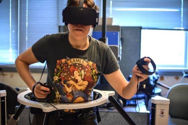 Virtualizer at University of Virginia in lab